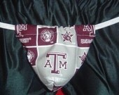 Mens TEXAS A and M UNIVERSITY G-String Thong Male Lingerie Underwear