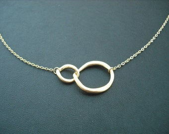 14k Gold Filled chain - double curb link necklace