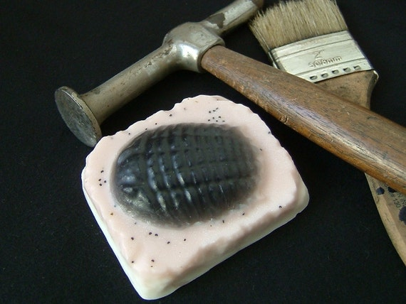 Fossil Bar Soap        Trilobite
