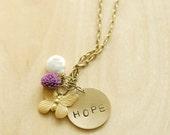 a little hope around my neck