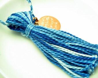 Boys Blue Child Zipper Pull Graduation Tassel