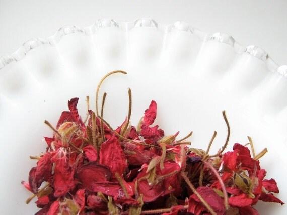 Dark Red Geranium Potpourri