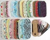 Cloth Menstrual Pantyliner SAMPLER SET - 100% Cotton Print