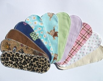 Mystery Pack Set of 20 Flannel Pantyliners - Long