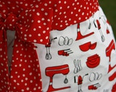 Half Apron in MIXERS in Red