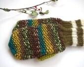 Wool mittens, woman mittens, green mittens, cute gloves