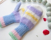 Winter mittens, mitts, gloves, accessory, holiday gift, purple