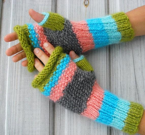 Fingerless Gloves, women gloves, winter gloves, cute gloves