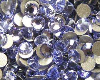 200 pcs PROVENCE LAVENDER Swarovski Crystal 2028 ss5 Rhinestone Flatbacks Non Hotfix