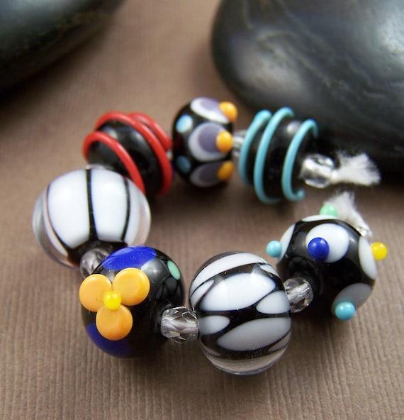 Destash Glass Beads Artisan Lampwork Glass Beads