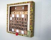 cigar box perpetual calendar
