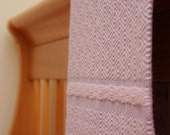 Baby Wool Blanket -  Pink and Lilac