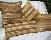 Pillows - Hand Woven - Set of 4
