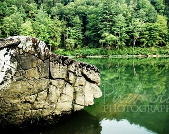 Rock Formation in Big South Fork - 12x18