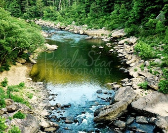 O and W River in the Big South Fork - 8x10 Photograph