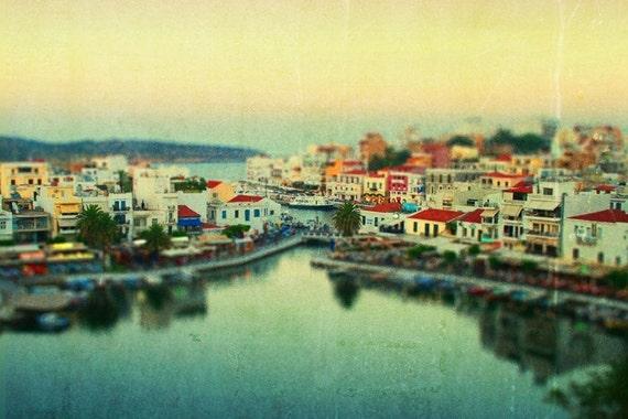 Small Village Greece - Decorative Photography 8x10