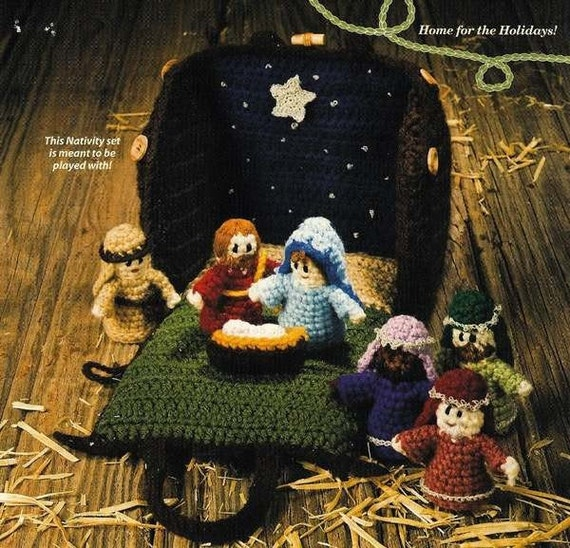 Free Crochet Patterns Nativity Scene : nativity scene crochet patterns
