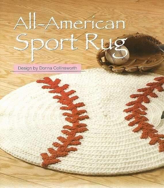 Items Similar To X885 Crochet PATTERN ONLY All-American