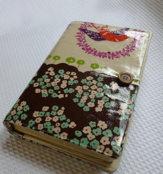 Little Bird  laminated cotton Bible cover