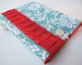 iPad Air Case / iPad Case / Tablet case / iPad Sleeve Padded for any iPad  - Aqua and Red