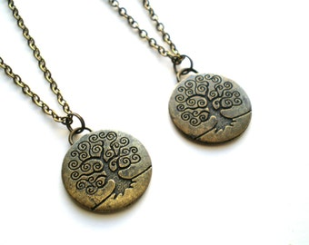 Set of Two - Tree of Life Necklace