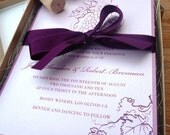 The Vineyard Wedding Invitation