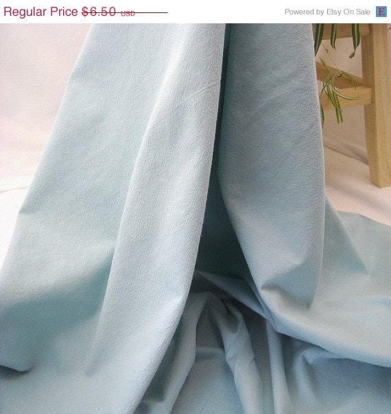"WINTER SALE Kona Crush Cotton Fabric - Aqua - 54"" Wide - 1 Yard"