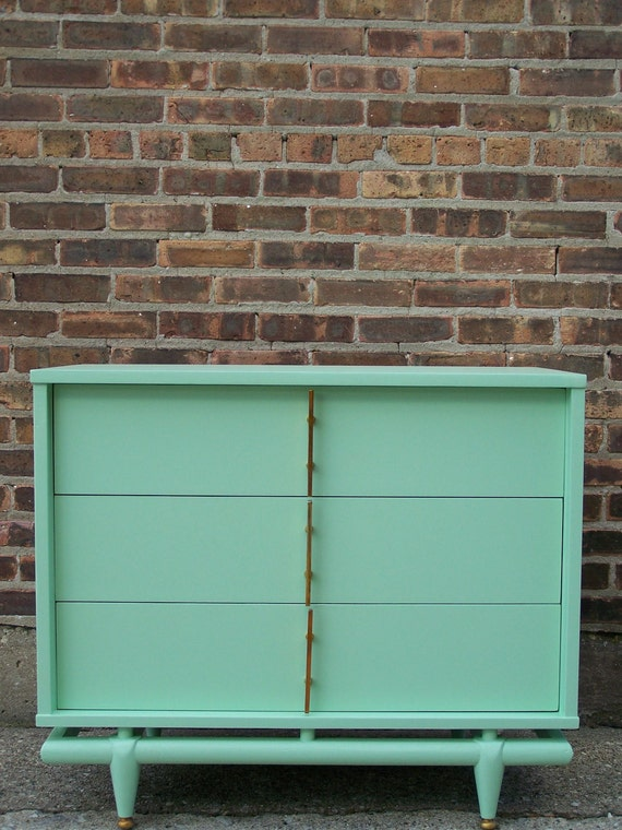 Fresh Mint Green Kent Coffey Dresser