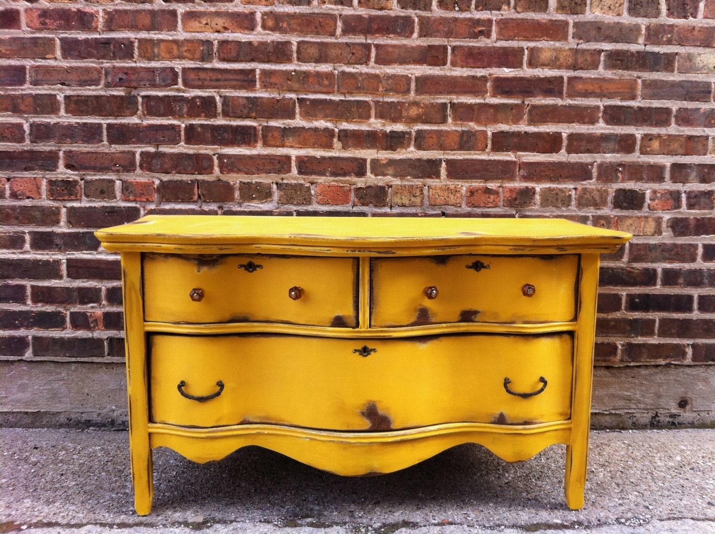 Vintage Distressed Lowboy Dresser - 523.9KB