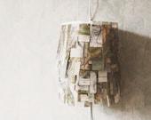 mountain map lamp