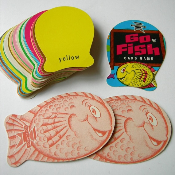 1951 go fish card game for Go fish cards