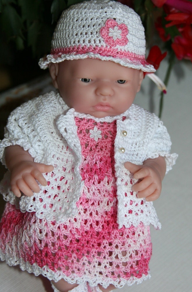 PDF PATTERN Crochet 9.5 inch Berenguer Mini La Newborn ...