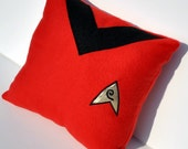 Star Trek Red Engineering Pillow
