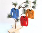 Star Trek 3 Piece Christmas Ornament Set