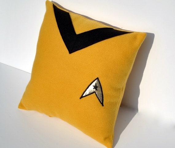 Star Trek Command Pillow