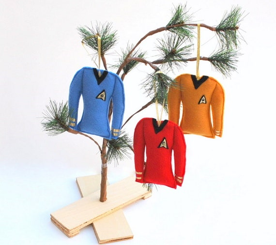 Star Trek 3-Piece Ornament Set | Star Trek Gift Guide