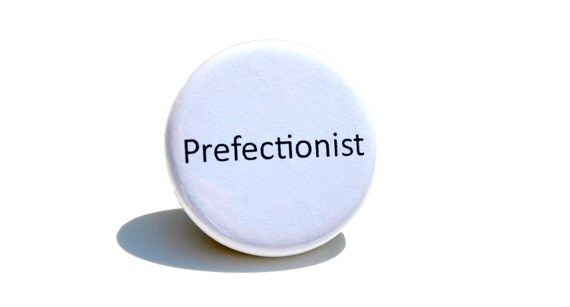 Perfectionist Pinback Button