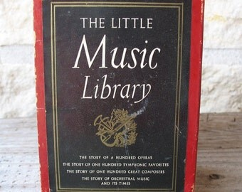 Vintage The Little Music Library Books.