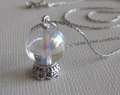 Fortune Teller's Crystal Ball Necklace