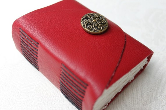 For Vicki Diane's Artists Exposed - Wee Chunky Book - Handmade Blank Book