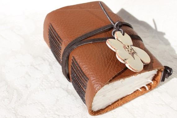 Mocha - Wee Chunky Book - Handmade