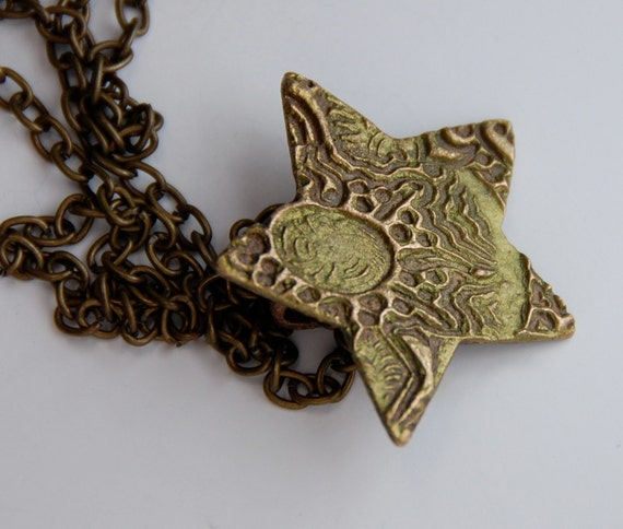Bronze Falling Star Necklace