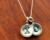 Silver X and O Necklace - Hugs and Kisses - Gwen Delicious Jewelry Design