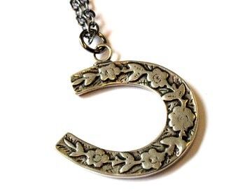 Two for One Sale....Horse Shoe Necklace
