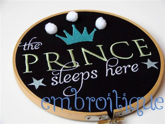 The Prince Sleeps Here