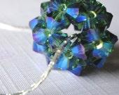 Miss Peacock - (BEAD ONLY) Swarovski Crystal