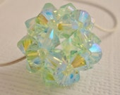 Sea Foam - (BEAD ONLY) Swarovski Crystal