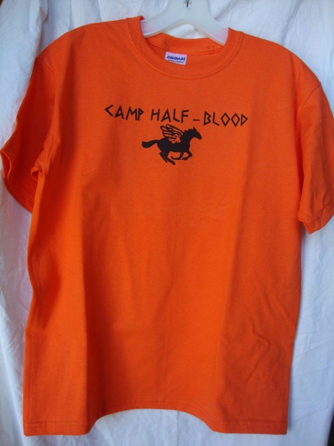 Camp half blood tee shirt adult large by ttcouture on etsy