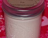 Island Paradise Hand poured scented Soy Wax 8 oz. Candles