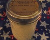 Hand poured scented Soy Wax 8 oz Candles (Home Sweet Home)